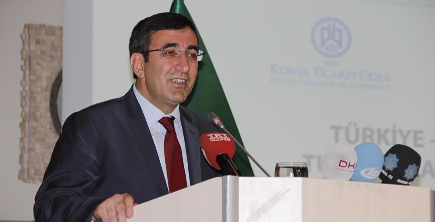 Kalkınma Bakanımız Cevdet Yılmaz Konya'da