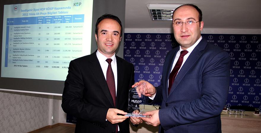 Seydişehir MÜSİAD'da KOP Bilgilendirme Toplantısı Düzenlendi