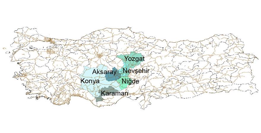 KOP BKİ Görev Alanına Nevşehir ve Yozgat Eklendi