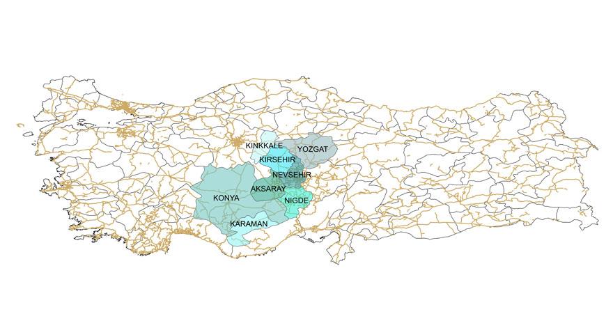 KOP İdaresi Görev Alanına Kırşehir ve Kırıkkale İlleri Eklendi