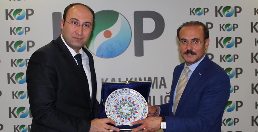 Yozgat Valisi Kemal Yurtnaç, KOP İdaresi'ni ziyaret etti