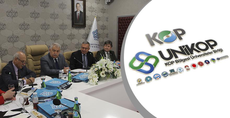 UNİKOP Stratejik Kurul Toplantısı Necmettin Erbakan Üniversitesinde Yapıldı