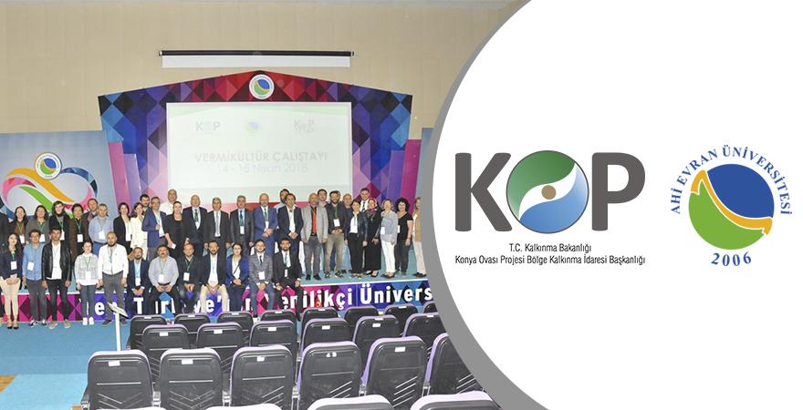 KOP-Ahi Evran Üniversitesi İşbirliğiyle 'Vermikültür' Çalıştayı Düzenlendi