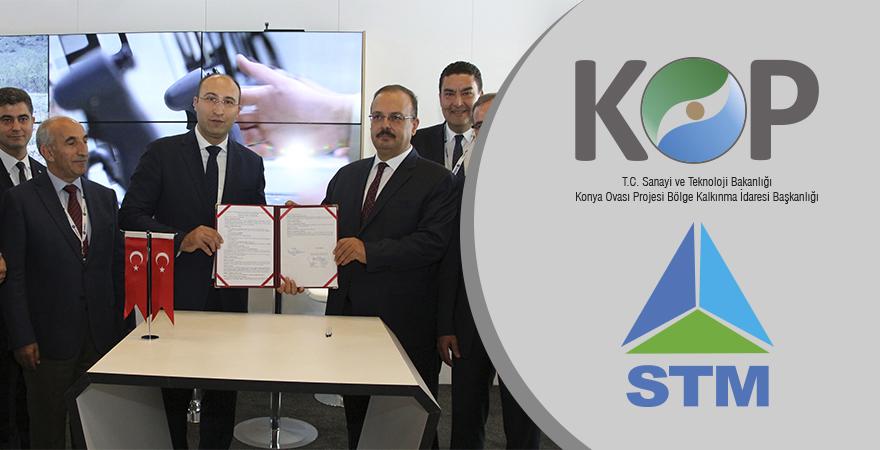 Savunma Sanayi Zirvesinde KOP-STM İş birliği