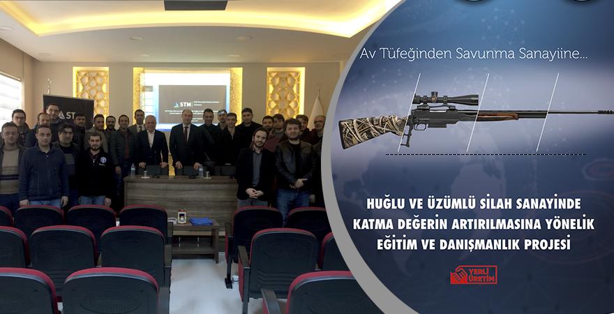Silah Sanayinde Katma Değerin Artırılması Projesi Eğitimleri Başladı