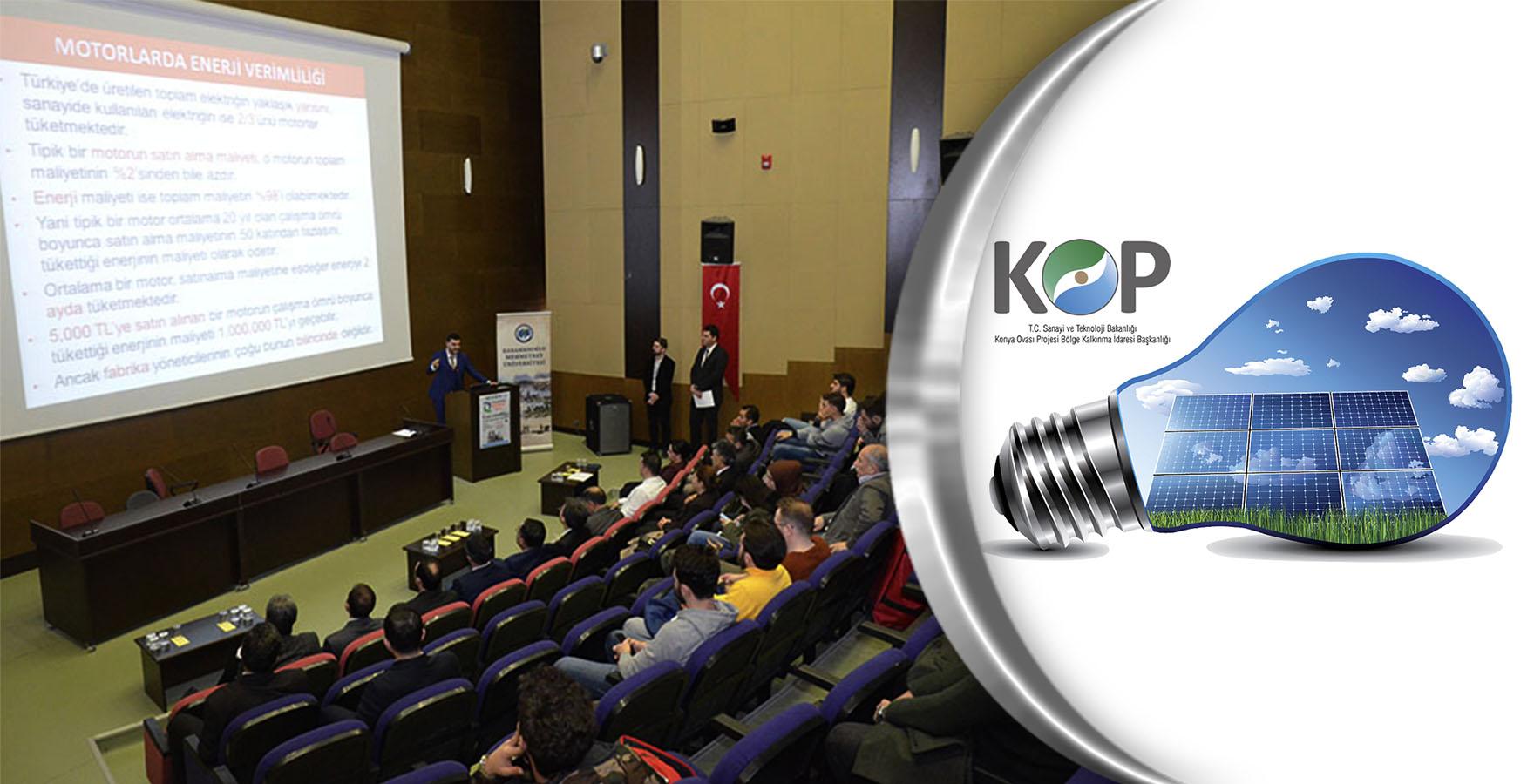 Karaman KOP Enerji Verimliliği Merkezi, Kırıkkale'de Tanıtıldı