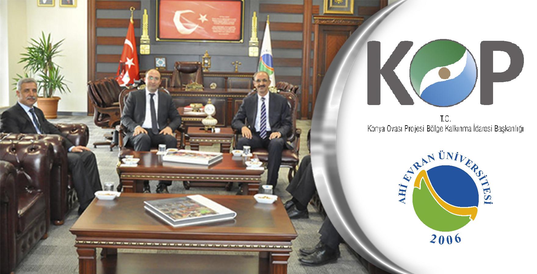 KOP-Kırşehir Ahi Evran Üniversitesi ile iş birlikleri artarak devam ediyor