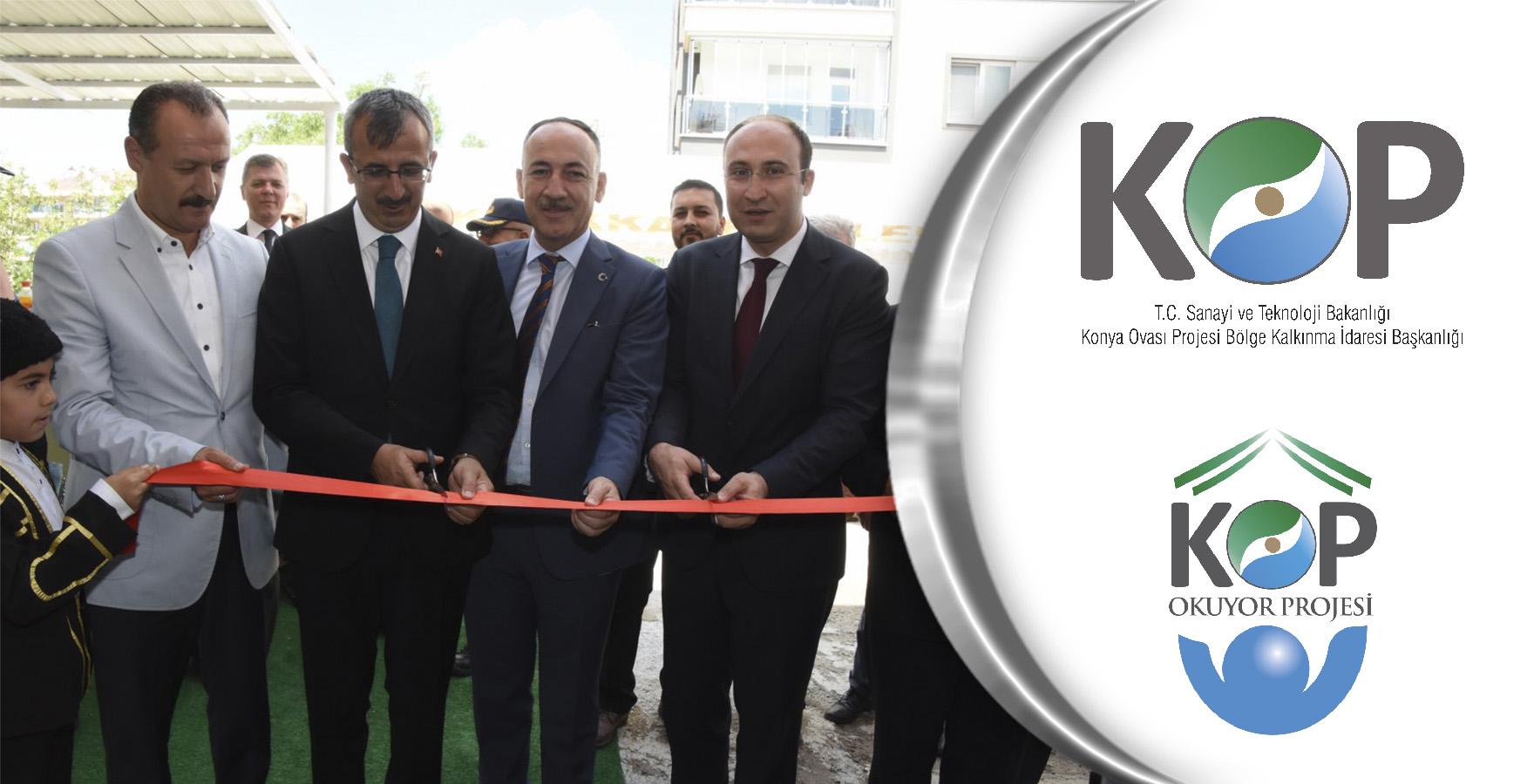 KOP - Emniyet Müdürlüğü İşbirliğiyle Bilgilendirme Kütüphanesi Açıldı