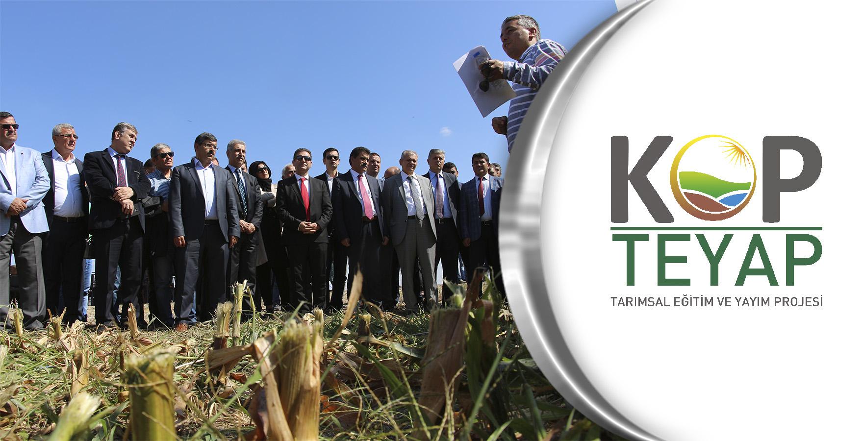 KOP İdaresi Modern Tarım Sistemlerini Destekliyor