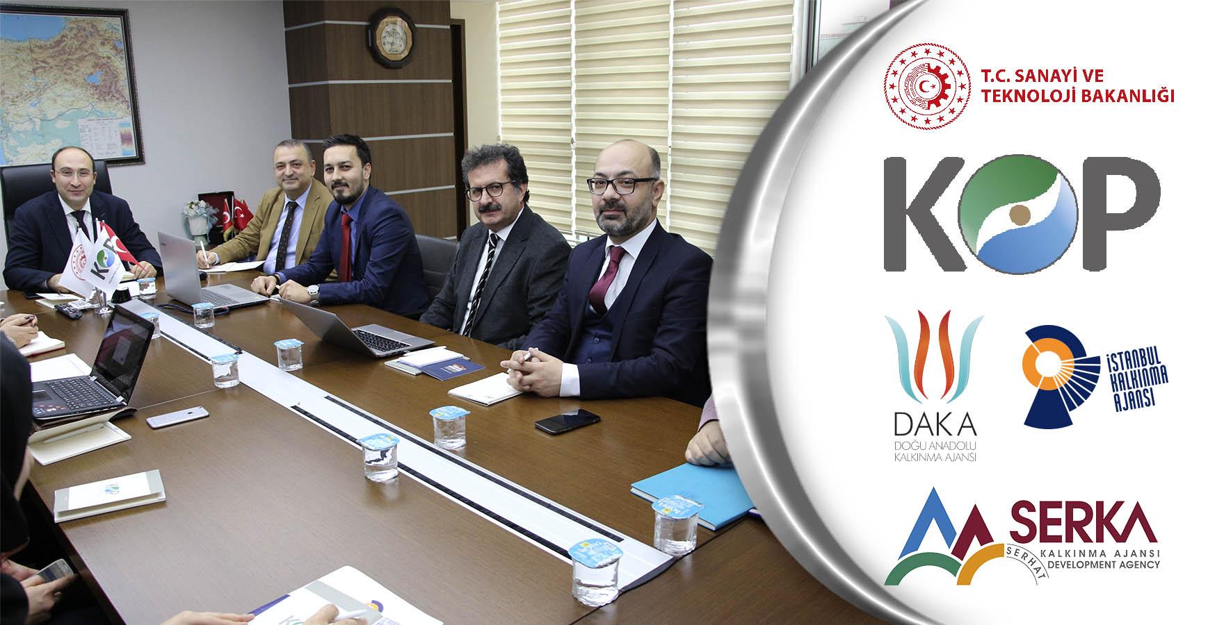 BKİ ve Kalkınma Ajansları Eşleştirme Toplantısının İkincisi KOP'ta Yapıldı