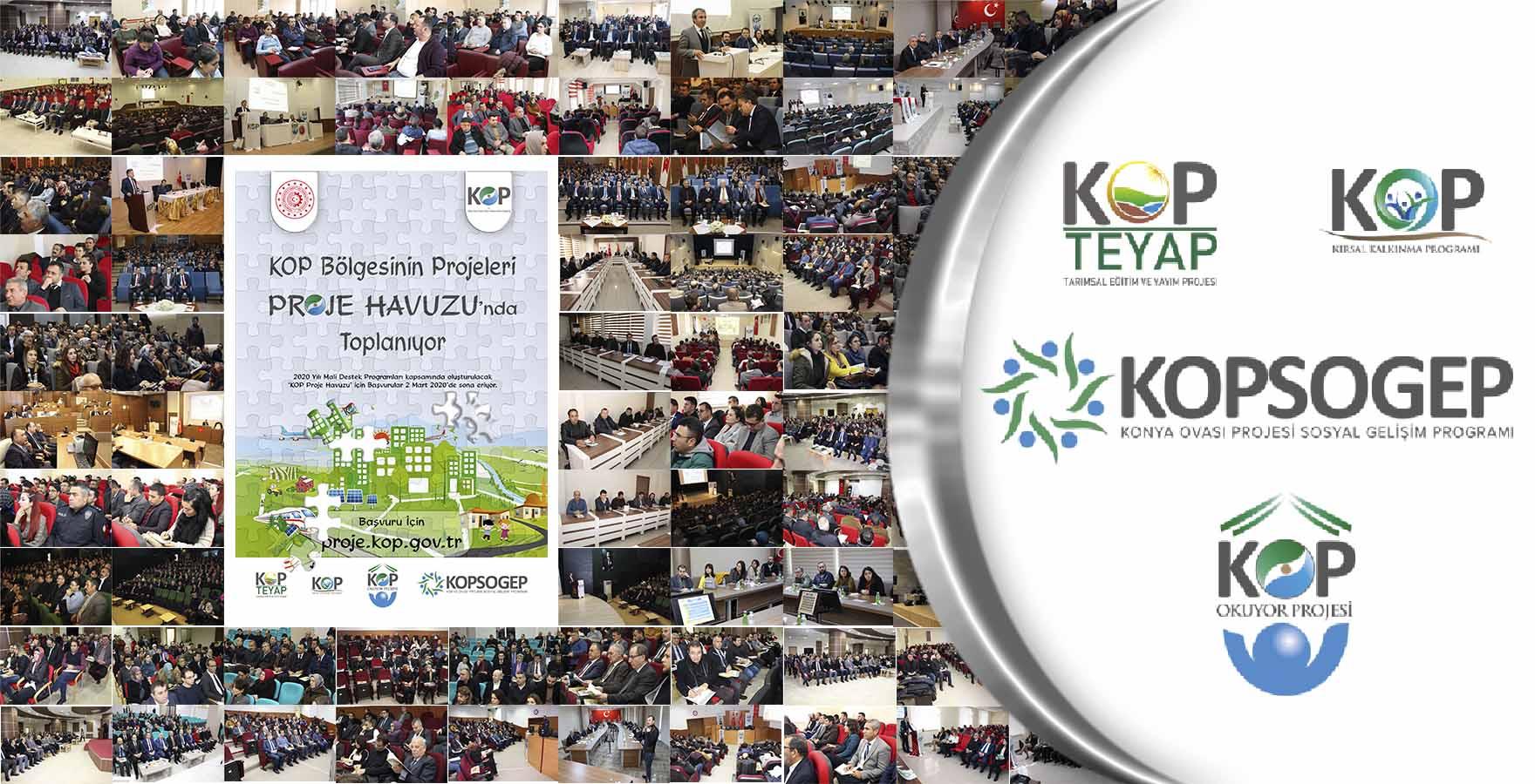 KOP İdaresi Bölgenin Önceliklerine Uygun Yenilikçi Projeleri Destekleyecek