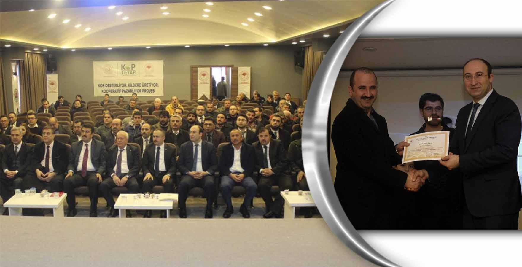 Bozkır'da KOP destekli projelerin tanıtımı yapıldı