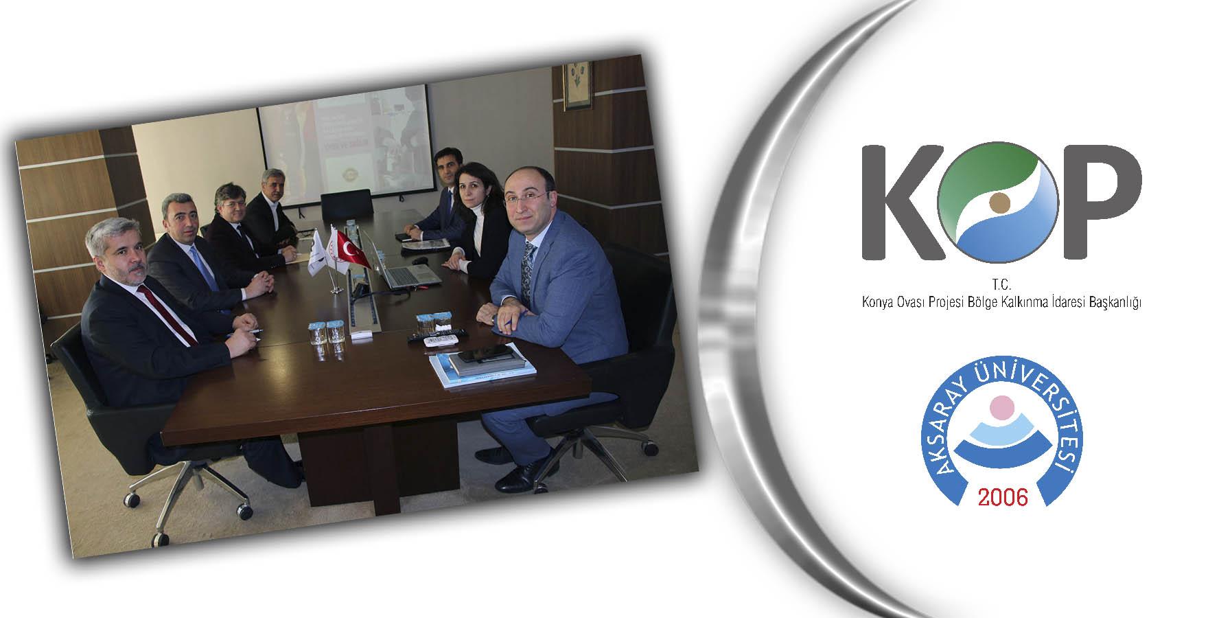 UNİKOP Üye Üniversitesi ASÜ Rektörü Şahin'den KOP İdaresine Ziyaret