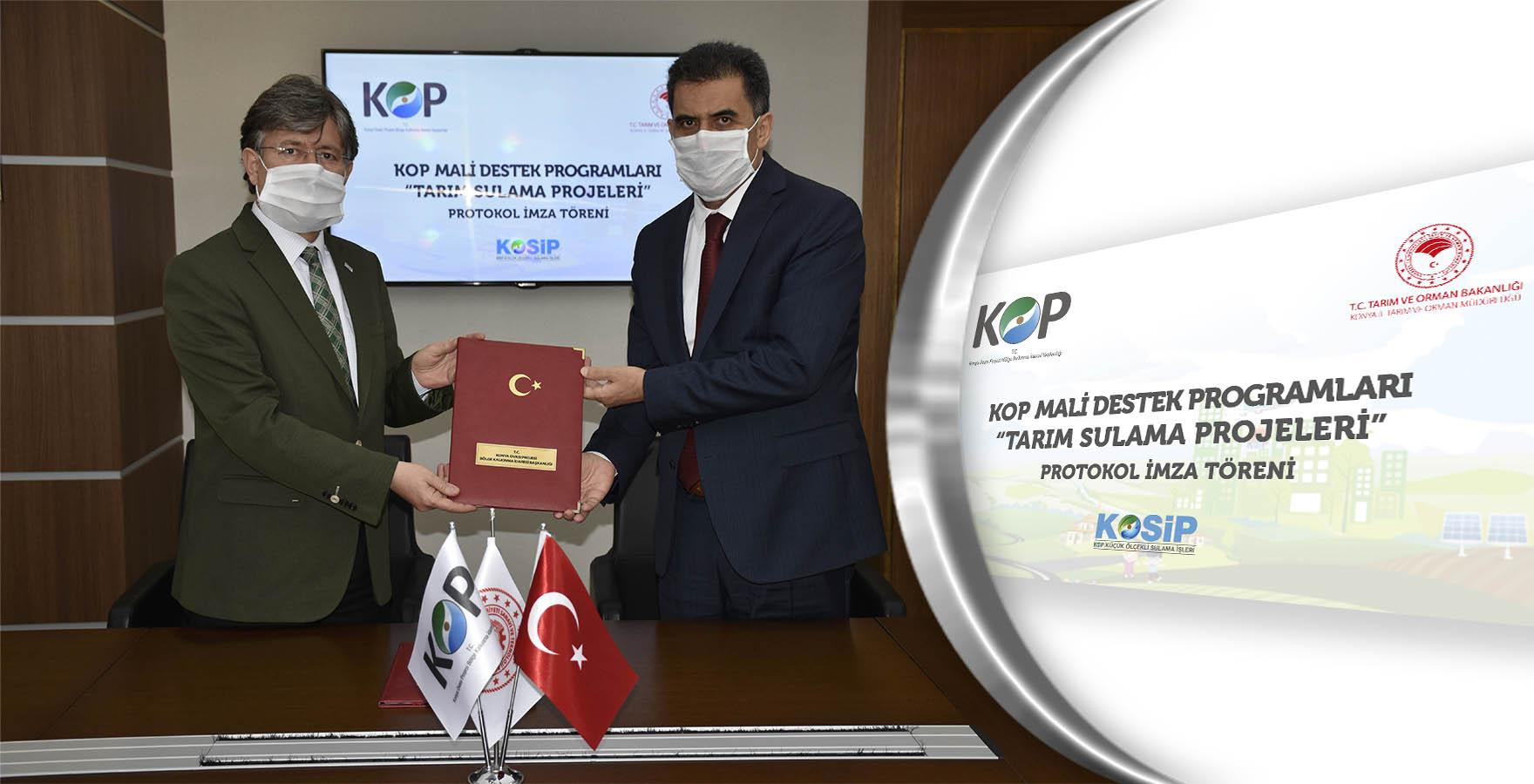 KOP İdaresi-Konya Tarım İşbirliğiyle Akıllı Sulama Dönemi