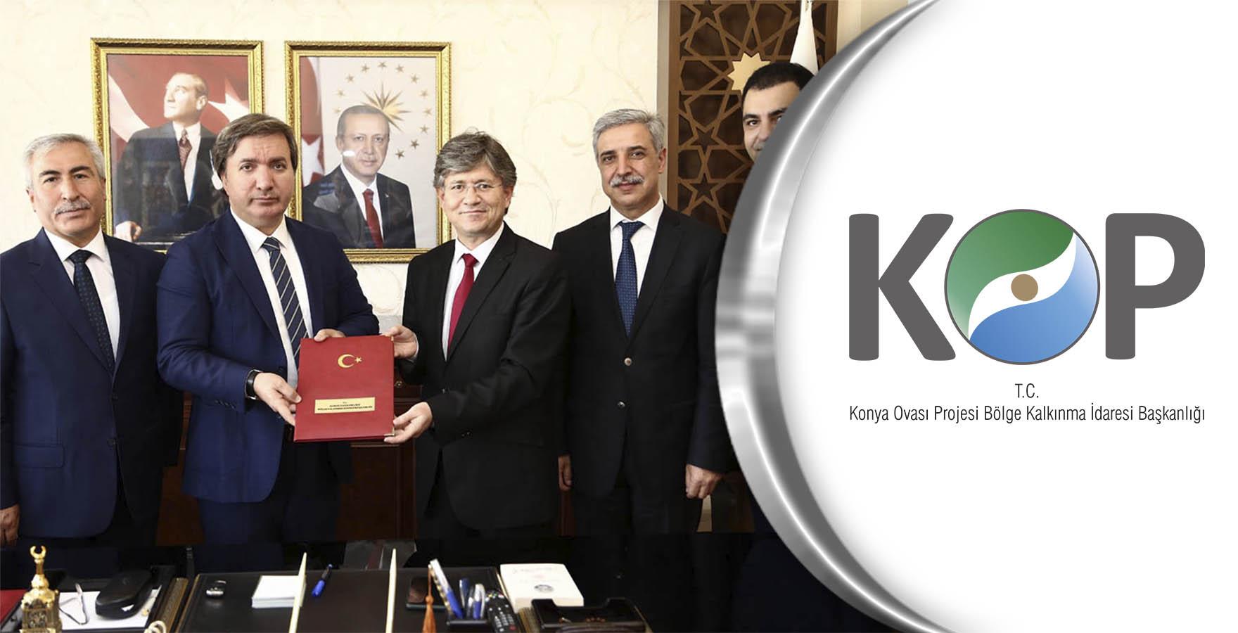 Aksaray'ın KOP Destekli Projeleri için İmzalar Atıldı