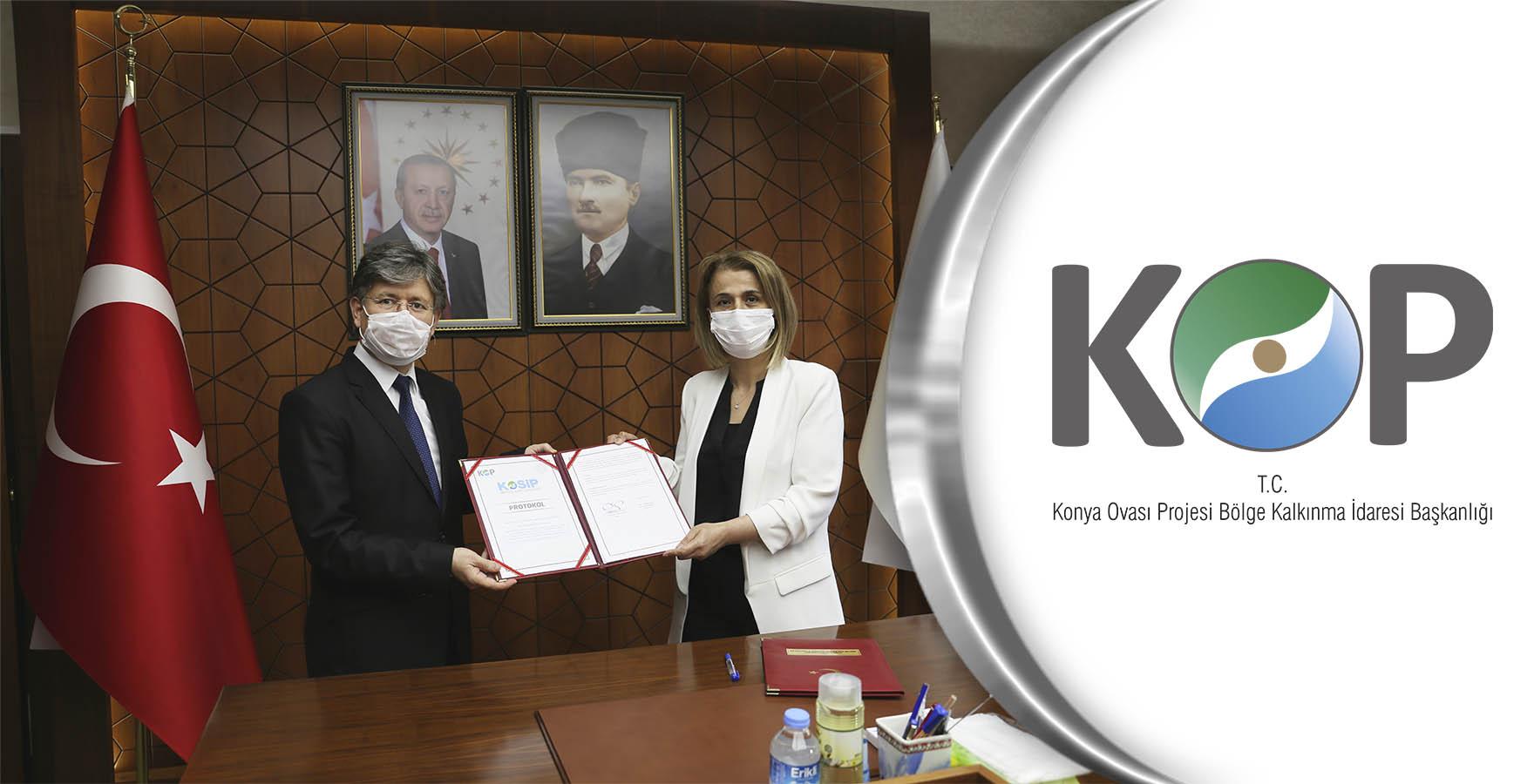 Nevşehir'in KOP Destekli Projeleri için İmzalar Atıldı