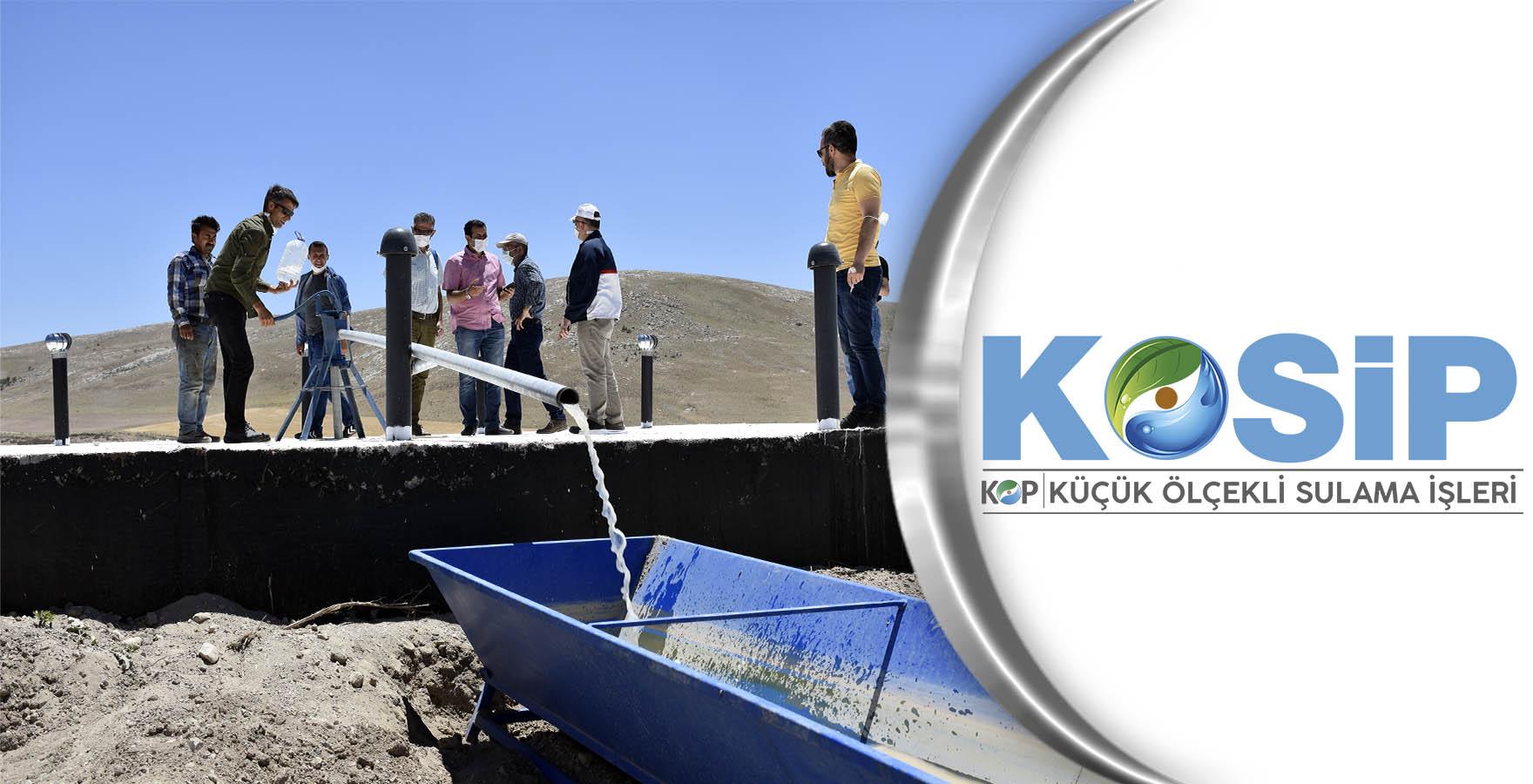 KOP Modern Sulama Sistemleri yaygınlaşıyor