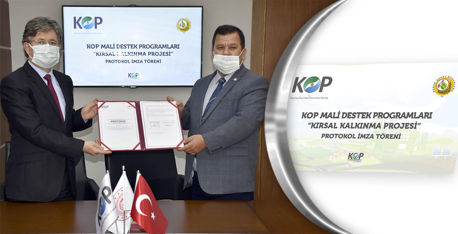 KOP ve Konya Orman Bölge Müdürlüğü İş birliği