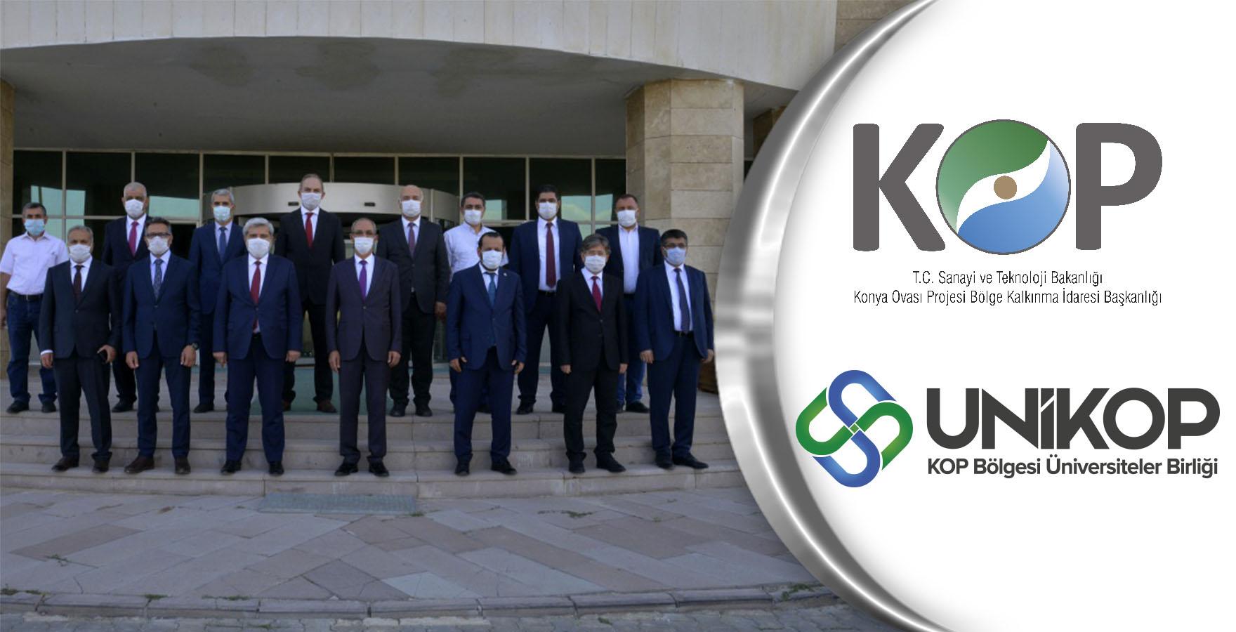 KOP Bölgesi Üniversiteler Birliği Kırşehir'de Toplandı